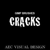 Crack Brushes For GIMP by timzero4