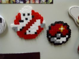 Mini-Hama Magnets by rebornflame