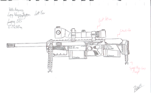 Lupine Weapons Systems - Lycan ERS - Left View by Retal19