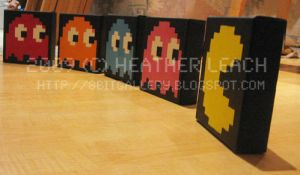 Pac-Man Set 01 by 8bitgallery