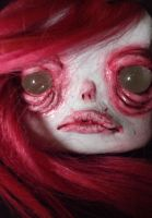 Blush Dead the shrunken head by UrsulaDecay