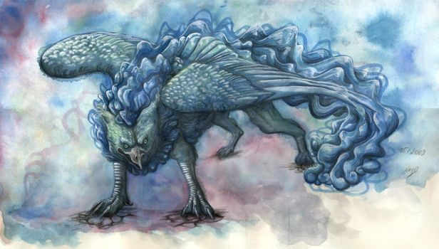 Floating River's Gryphon by Werwal