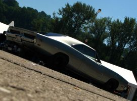 silver '69 charger I by AmericanMuscle