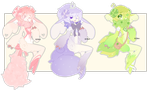 Set Price:: Bumbie Babes [ Closed ] by SireFluffButt