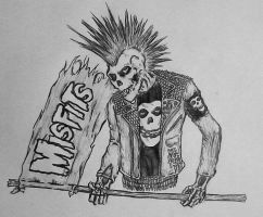 misfits army by GraveLord138