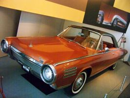 '63 Chrysler Turbine Coupe by DetroitDemigod