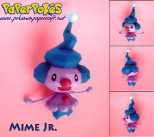 Mime Jr. Papercraft