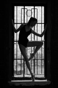 Dancer in Silhouette by HowNowVihao