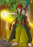 Forest Witch by WelderFace