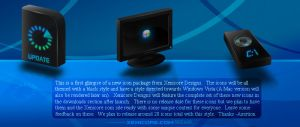 Xenicore   Black Icons Preview by Axertion Iconos para Windows XP