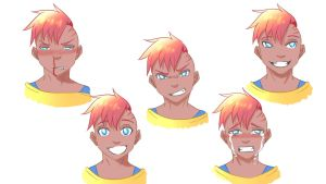 Expression Practice Colored by NayrusLove16