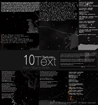 10-Textures-Text. by Yeonseb