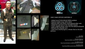 Halo 4: FUD Cosplay - UNSC CAMS Officer (v2) by LostDecay