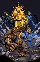 Fantastic Four color by seanforney