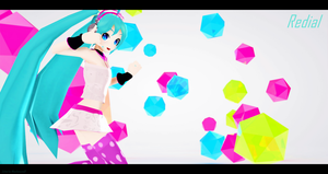 MMD - PD Miku Redial Redo (Edited Ver.) by MikuHatsune01