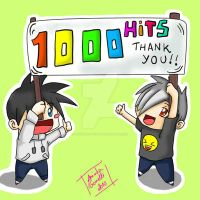 1000 Hits Thank You by aninhachanhp