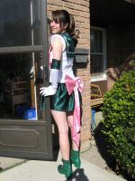 Sailor Jupiter Cosplay -Shot2- by Amishanda