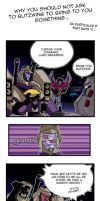 Blitzwing and pie's problems by Sariella-Shinzo