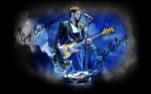 Guy Berryman In A Teardrop by SliderGirl