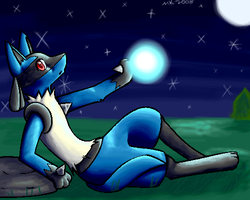 Lucario by Cannibal-Pie-Chan