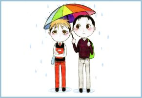 Rainy Days by RainbowMarimo