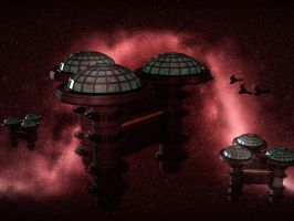 Space Stations by ElaineG