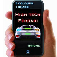 High Tech Ferrari iPhone Pack by gepalex