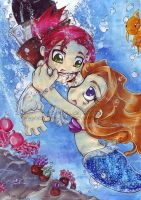 Diving for Mermaids by KeyshaKitty