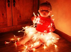 Baby Girl in Lights by HarleyQuinn2012
