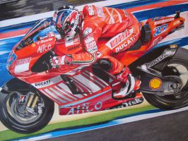 Casey Stoner 2007 by LuckyNo4