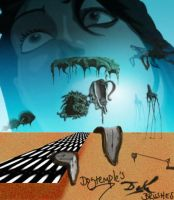 Salvador Dali Surreal Brushes by dogtemple