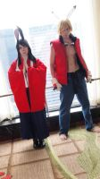Summer Wars Cosplay!  Natsuki and King Kazma by OORR