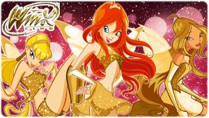 Winx gold transform! by AlexaSpears1333