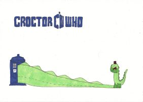 Croctor Who by jenniology