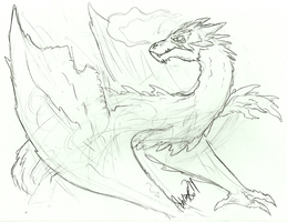 Request: Smaug by FillyBlue