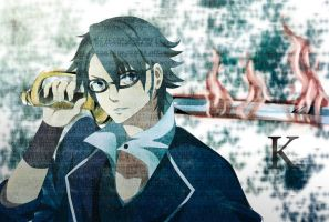 Project K: Fushimi Saruhiko by mpascua123
