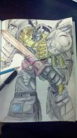 Grimlock sketch by beamer