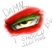 Eye should be sleeping by NinjaTertel