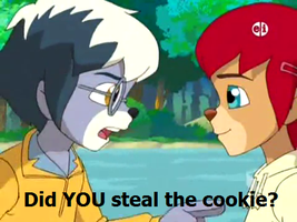 Steal The Cookie by AnnaTheWonderGirl01