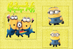 Photopack De Minions PNG by DeniBieberEditionscx