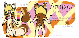 :.Amber.Reference.Sheet.: by meridae