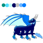Single dragon adopt-Closed- by DRD-FunTime