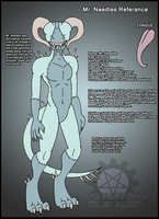 Reference Sheet- Mr. Needles by NuclearZombie18