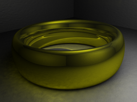 Simple Gold Ring by LDS-Jedi