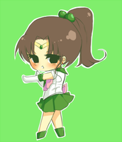 Sailor Jupiter Cheeblet by AndreaJacqLee
