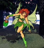 Fairy_Lineart_by_sharem_color by jcastick