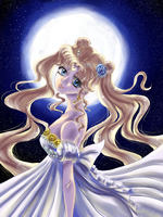 Moon Princess by Lin-elle