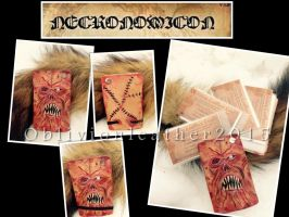 Necronomicon - Exmortis - Book of the dead 3 by Oblivionleather76