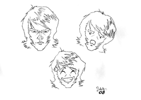 Sketches of me by SobohP
