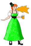 Irish Rowena by OneMessedUpHero